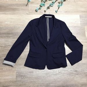 Mosaic & Co. Navy Blazer Jacket